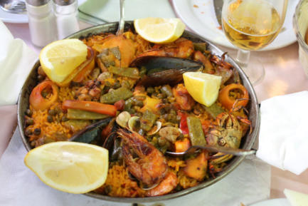 Paella en Madrid